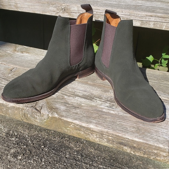sports shoes d4133 633ba *Polo by Ralph Lauren* Chelsea ankle Boot green